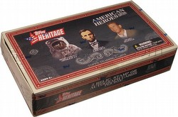 09 2009 Topps American Heritage Heroes Edition Trading Cards Box