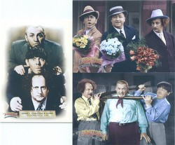 The Three Stooges Trading Cards Box Case [Breygent/2005/12 boxes]