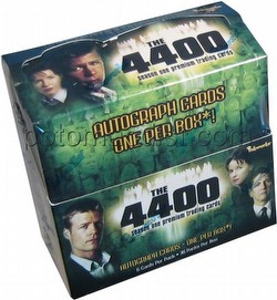 The 4400: Season One Premium Trading Cards Box