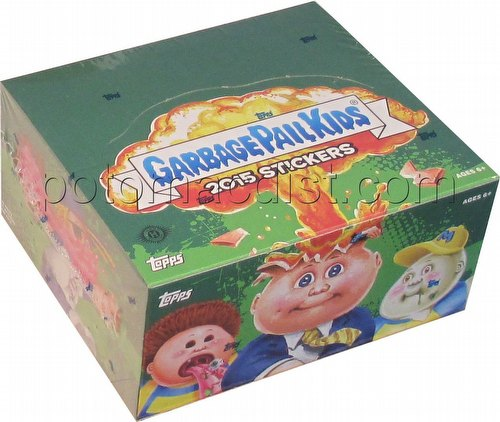 Garbage Pail Kids 2015 Series 1 Stickers Box [Hobby]