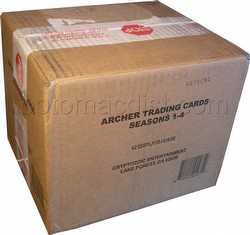 Archer Seasons 1 - 4 Trading Cards Box Case [12 boxes]