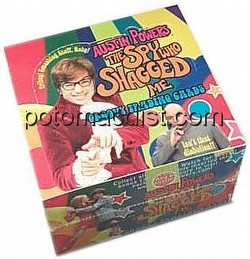 Austin Powers: The Spy Who Shagged Me Trading Cards Box