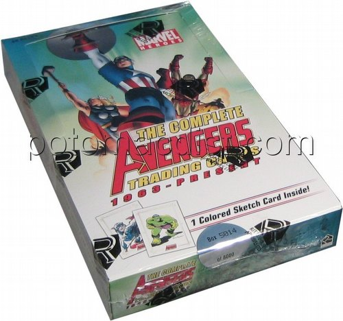 Marvel Heroes: The Complete Avengers 1963-Present Trading Cards Box