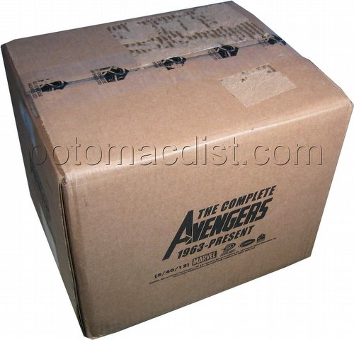 Marvel Heroes: The Complete Avengers 1963-Present Trading Cards Box Case [12 boxes]