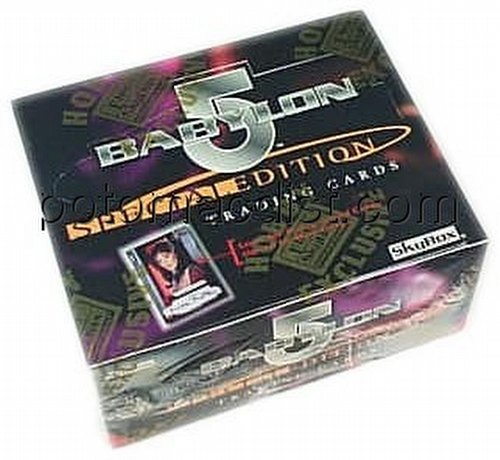 Babylon 5 Special Edition Trading Cards Box