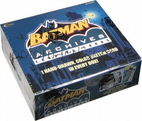 DC Comics: Batman Archives Trading Cards Box