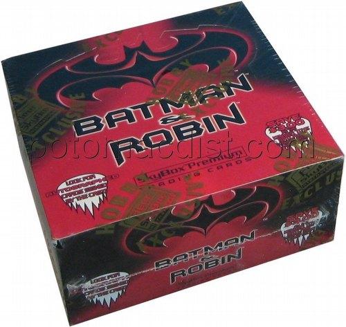 Batman & Robin Movie Trading Cards Box