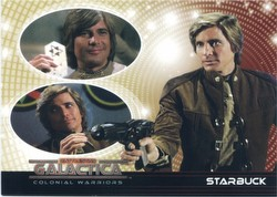 Battlestar Galactica Colonial Warriors Trading Cards Binder Case [4 binders]