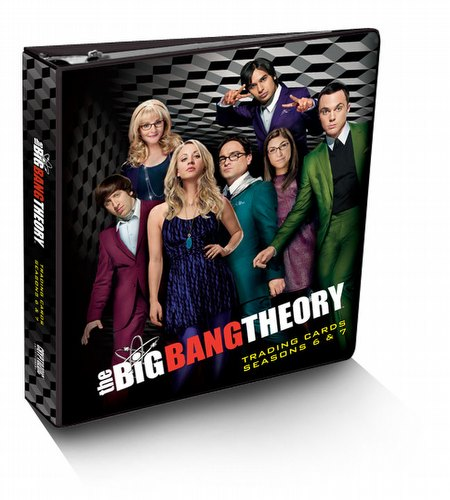 Big Bang Theory Seasons 6 & 7 Binder