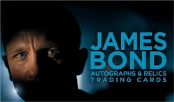 James Bond 2013 Autographs and Relics Trading Cards Box Case [12 boxes]