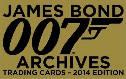 James Bond Archives 2014 Edition Trading Cards Binder Case [4 binders]