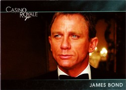 James Bond 007 Casino Royale Preview Trading Card Set [9 cards + costume card]