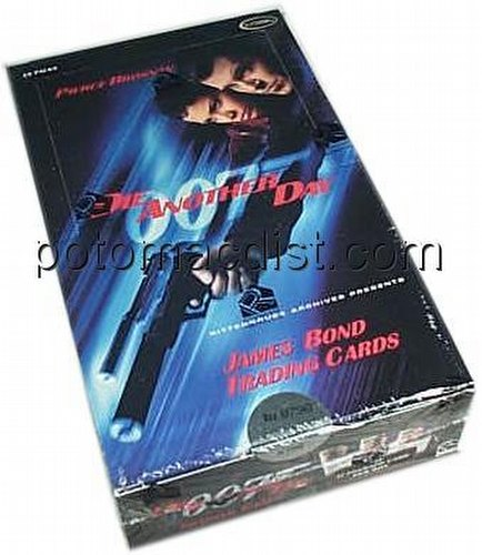 James Bond Die Another Day Trading Cards Box
