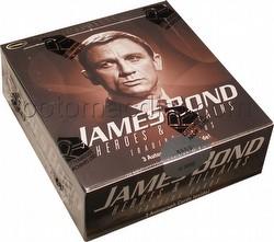 James Bond Heroes and Villains Trading Cards Binder Case [4 binders]