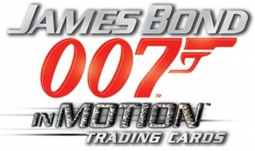 James Bond In Motion Lenticular Trading Cards Binder Case [4 binders]