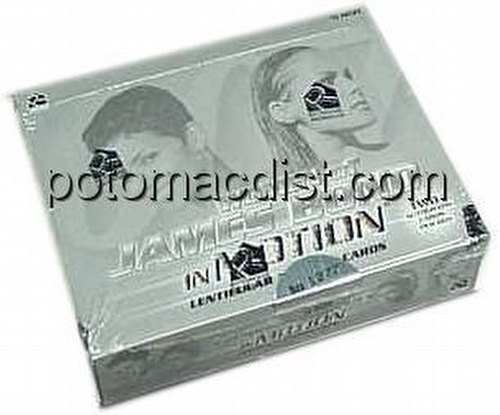 James Bond Women In Motion Trading Cards Box