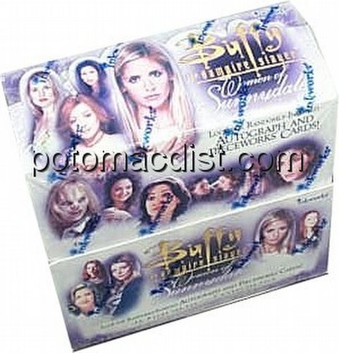 Buffy the Vampire Slayer Women of Sunnydale Trading Cards Box
