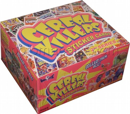 Cereal Killers Series 2 Stickers Box