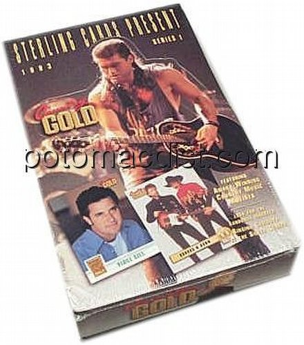 Country Gold 1993 Trading Cards Box