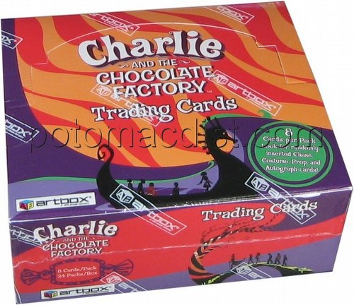 Charlie and the Chocolate Factory Trading Cards Box