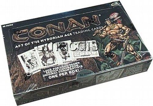 Conan: Art of the Hyborian Age Trading Cards Box