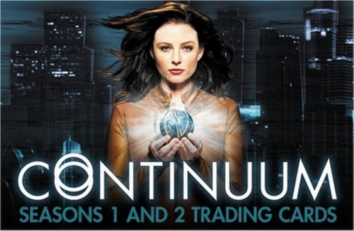 Continuum Seasons 1 & 2 (One & Two) Trading Cards Box Case [12 boxes]