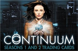 Continuum Seasons 1 & 2 (One & Two) Trading Card Binder Case [4 binders]