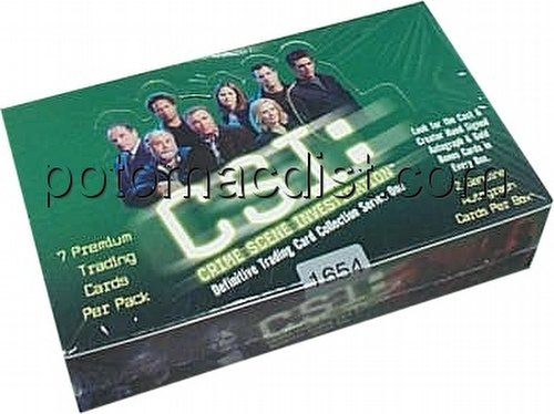C.S.I. Series 1 Trading Cards Box