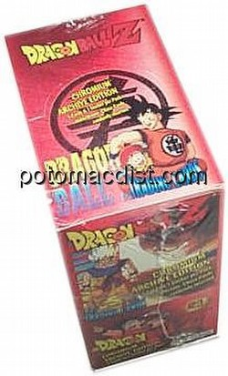 Dragonball Z Chromiumm Archive Edition Trading Cards Box