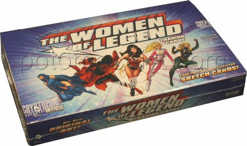 DC Comics Women of Legend Trading Cards Box