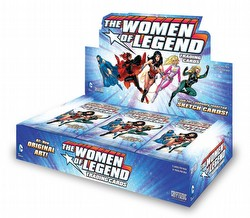 DC Comics Women of Legend Trading Cards Box Case [12 boxes]