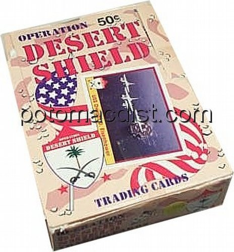 Desert Storm: Operation Desert Shield Trading Cards Box [Pacific]