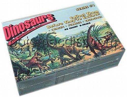 Dinosaurs: The Mesozoic Era Trading Cards Box