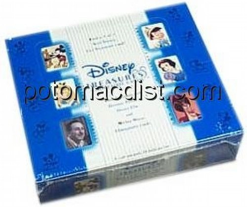Disney Treasures Mickey Mouse Trading Cards Box