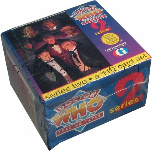 Dr. Who Series 2 Trading Cards Box