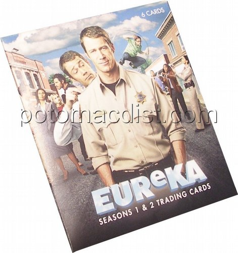 Eureka: Seasons 1 and 2 Trading Cards Premium Pack