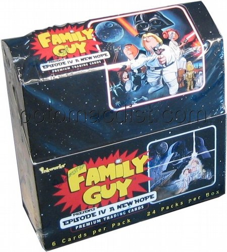 Family Guy Presents Episode IV A New Hope Premium Trading Cards Box