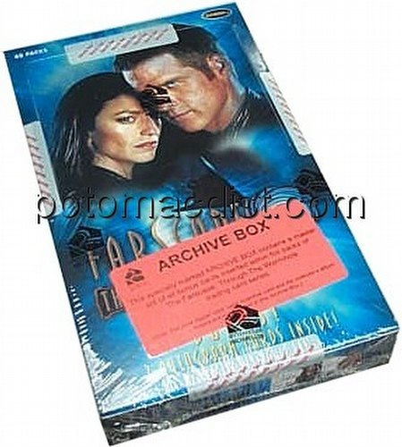 Farscape Through The Wormhole Archive Trading Cards Box