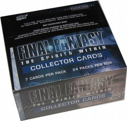Final Fantasy The Spirits Within Movie Collector Cards Box (24 pack box)