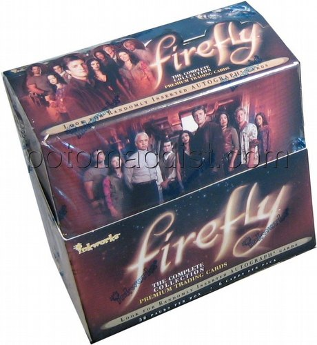 Firefly: The Complete Collection Series Premium Trading Cards Box