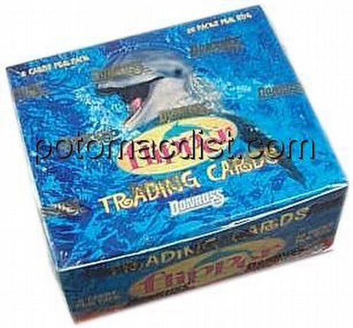 Flipper Trading Cards Box
