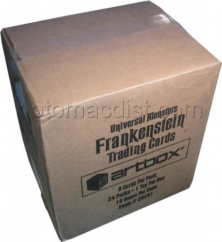 Frankenstein Trading Cards Box Case [10 boxes]