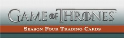 Game of Thrones: Season Four Trading Card Binder Case [4 binders]