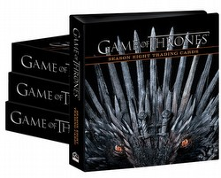 Game of Thrones: Season Eight Trading Card Binder Case [4 binders]
