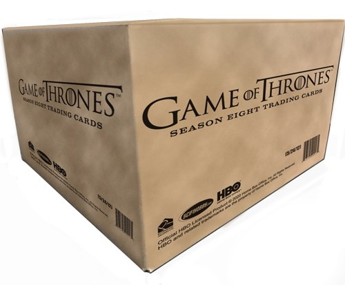 Game of Thrones: Season Eight Trading Cards Box Case [12 boxes]