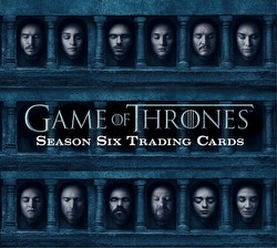 Game of Thrones: Season Six Trading Cards Box
