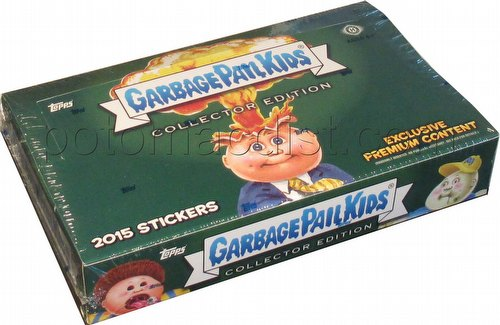 Garbage Pail Kids 2015 Series 1 Stickers Collector Edition Box [Hobby]