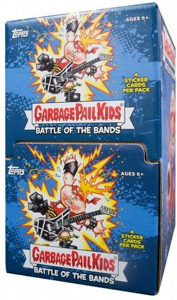 Garbage Pail Kids 2017 Series 2 - Battle of the Bands Stickers Gravity Feed Box