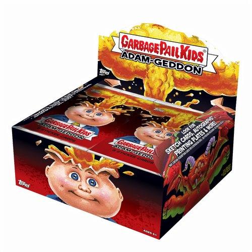 Garbage Pail Kids 2017 Adam-Geddon Stickers Box [Hobby/Series 1]