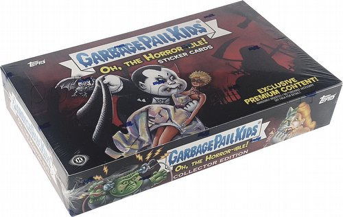 Garbage Pail Kids 2018 Oh The Horror-ible Sticker Cards Collector Edition Box [Hobby/Series 2]